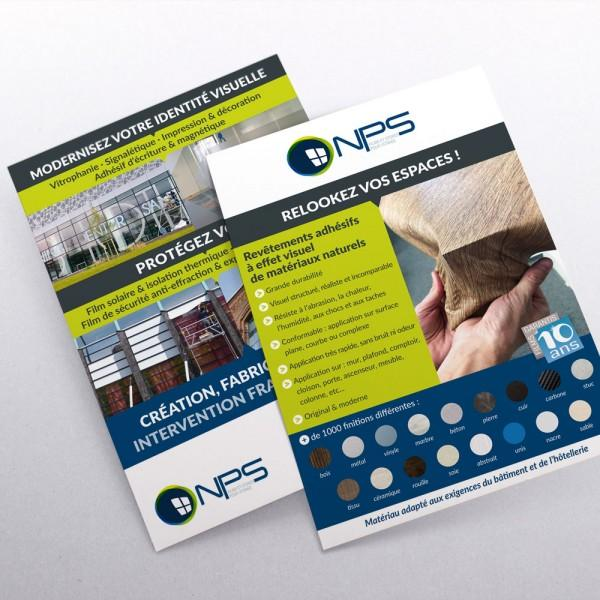 Client : NPS Window Tech (films de protection) | Activité : Service