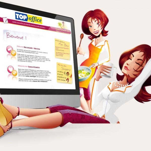 Création site web | TOP office