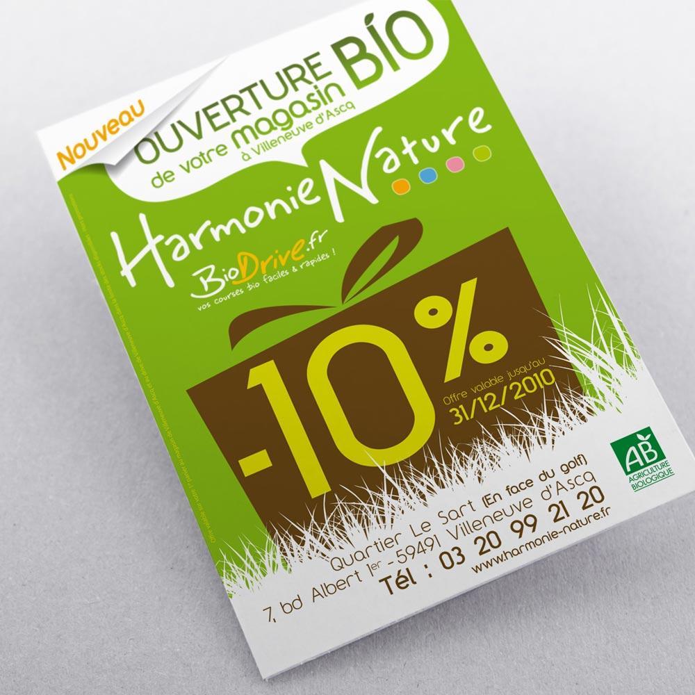 Client : Bio Drive (magasins de produits bio) | Activité : Distribution