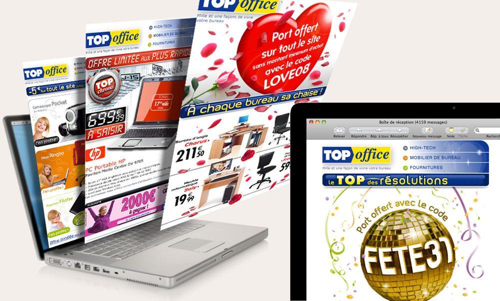Client : Top Office | Activité : Distribution