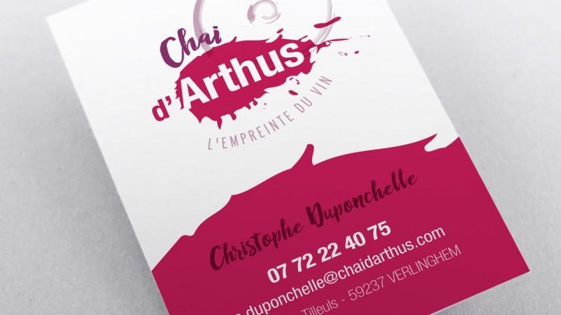 Carte de visite Chai d'Arthus
