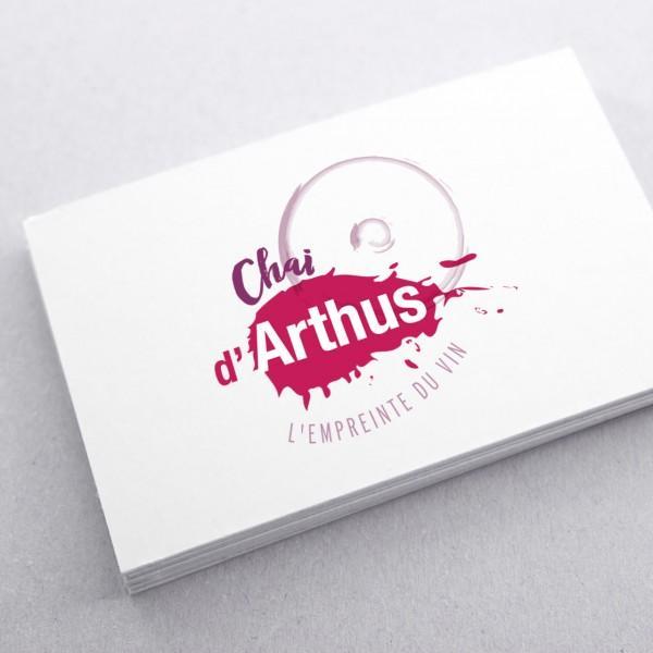 Création du logo Chai d'Arthus